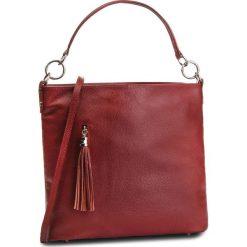 Torebka CREOLE - K10581 Czerwony. Czerwone torebki klasyczne damskie Creole, ze skóry. Za 229,00 zł.