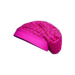 Czapeczki niemowlęce: Playshoes Czapka UV Beanie Punkty różowy