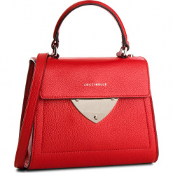 Torebka COCCINELLE - C05 B14 E1 C05 55 77 01 Coquelicot R09. Czerwone torebki klasyczne damskie marki Coccinelle, ze skóry. W wyprzedaży za 769,00 zł.