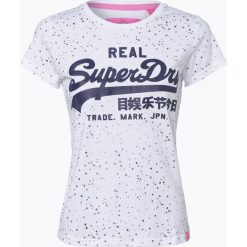T-shirty damskie: Superdry – T-shirt damski, czarny