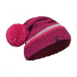 Czapka damska Knitted&Polar Navar różowa (BH113509.521.10.00). Czerwone czapki zimowe damskie Buff, z polaru. Za 131,41 zł.