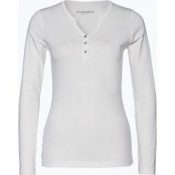 T-shirty damskie: brookshire – Damska koszulka z długim rękawem, beżowy