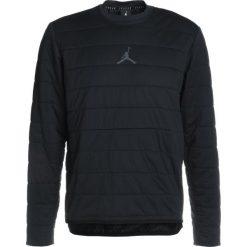 Bejsbolówki męskie: Jordan TECH QUILTED CREW Bluza black/anthracite
