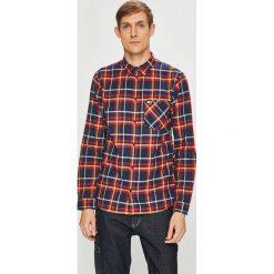 Tommy Jeans - Koszula. Czarne koszule męskie jeansowe marki Tommy Jeans, l, w kratkę, button down, z długim rękawem. Za 359,90 zł.