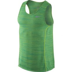 Odzież sportowa męska: koszulka do biegania męska NIKE DRI-FIT COOL MILER SINGLET / 718346-313 - NIKE DRI-FIT COOL MILER SINGLET