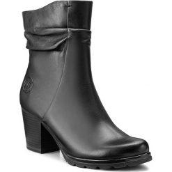 Botki MARCO TOZZI - 2-25457-29 Black Antic 002. Czarne buty zimowe damskie marki Marco Tozzi, ze skóry. W wyprzedaży za 289,00 zł.