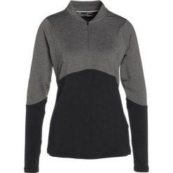 Bluzy damskie: Under Armour THREADBORNE ZIP MOCK Bluza black