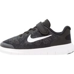 Nike Performance FREE 2 Obuwie do biegania neutralne black/white/dark grey/anthracite. Czarne buty do biegania męskie Nike Performance, z materiału. W wyprzedaży za 209,30 zł.