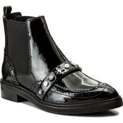 Sztyblety JOOP! - Platia 4140003564 Black 900. Czarne botki damskie na obcasie JOOP!, z lakierowanej skóry. W wyprzedaży za 419,00 zł.