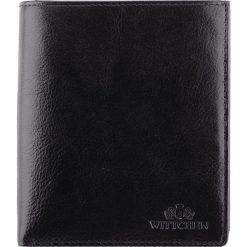 Portfel 21-1-139-1. Czarne portfele męskie marki Wittchen. Za 399,00 zł.