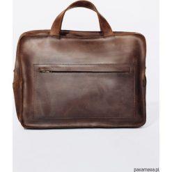 TORBA Skórzana Lezerton T02 Brązowa. Brązowe torby na ramię męskie marki Kazar, ze skóry, przez ramię, małe. Za 669,00 zł.