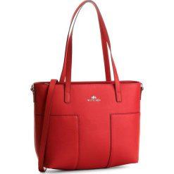 Torebka WITTCHEN - 86-4E-429-3 Czerwony. Czerwone torebki klasyczne damskie Wittchen, ze skóry, duże. W wyprzedaży za 469,00 zł.