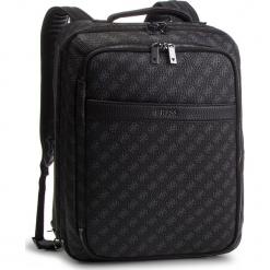 Plecak GUESS - HM6608 POL91 BLA. Czarne plecaki męskie Guess, z aplikacjami, ze skóry ekologicznej. Za 839,00 zł.
