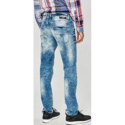 Guess Jeans - Jeansy Vermont. Niebieskie jeansy męskie slim Guess Jeans. W wyprzedaży za 269,90 zł.