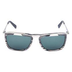 """Okulary przeciwsłoneczne męskie: Okulary przeciwsłoneczne """"KZDAH140103"""" w kolorze grafitowym"""