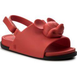 Sandały dziewczęce: Sandały MELISSA – Mini Melissa Beach Slide Sanda 32284 Red/Black 50924