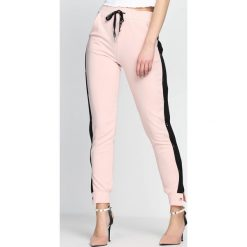 Spodnie dresowe damskie: Różowe Spodnie Dresowe Nowadays