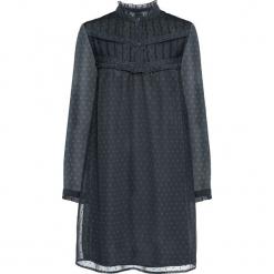 Sukienka z koronką bonprix ciemnoszary. Szare sukienki koronkowe marki bonprix, w koronkowe wzory. Za 109,99 zł.