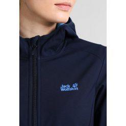 Jack Wolfskin NORTHERN POINT Kurtka Softshell midnight blue. Niebieskie kurtki sportowe damskie marki Jack Wolfskin, xl, z materiału. W wyprzedaży za 351,20 zł.