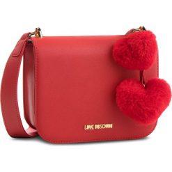 Torebka LOVE MOSCHINO - JC4324PP06KW0500 Rosso. Czerwone listonoszki damskie marki Love Moschino, ze skóry ekologicznej. W wyprzedaży za 449,00 zł.