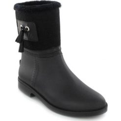 """Buty damskie: Kalosze """"Divine"""" w kolorze czarnym"""