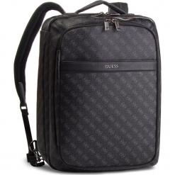 Plecak GUESS - HM6359 POL81  BLA. Czarne plecaki damskie marki Guess, z aplikacjami, ze skóry ekologicznej. W wyprzedaży za 669,00 zł.