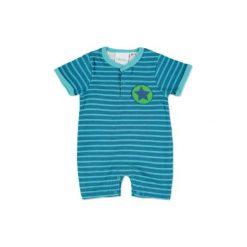 Pink or blue  Rampersy farbig - niebieski. Niebieskie pajacyki niemowlęce pink or blue, z bawełny. Za 39,00 zł.