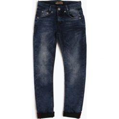 Blue Effect - Jeansy chłopięce slim fit, niebieski. Niebieskie chinosy chłopięce Blue Effect, z jeansu. Za 179,95 zł.
