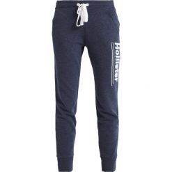 Spodnie dresowe damskie: Hollister Co. LOGO JOGGER  Spodnie treningowe navy