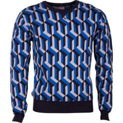 """Bluza """"Warm Foothills"""" w kolorze czarno-niebieskim. Czarne bluzy męskie rozpinane 4funkyflavours Women & Men, l, z bawełny. W wyprzedaży za 227,95 zł."""