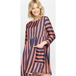 Sukienki: Pomarańczowa Sukienka Oyster