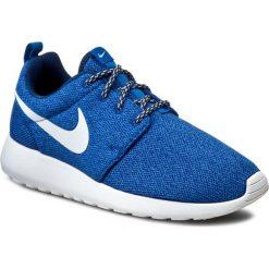 Buty sportowe damskie: Buty NIKE – Roshe Run 844994 400 Coastal Blue/White/Blue Spark