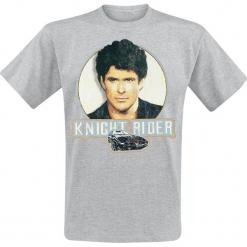 Knight Rider Michael Knight Head T-Shirt odcienie szarego. Szare t-shirty męskie Knight Rider, l. Za 74,90 zł.
