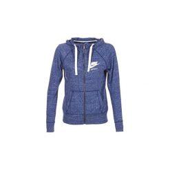 Bluzy Nike  GYM VINTAGE FZ. Niebieskie bluzy damskie Nike, s. Za 207,20 zł.