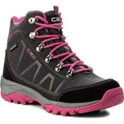 Trekkingi CMP - Soft Naos Wmn Wp 3Q47466  Asphalt U883. Czarne buty trekkingowe damskie CMP. W wyprzedaży za 279,00 zł.