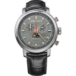 Zegarki męskie: Zegarek męski Aerowatch Renaissance Chronograph Moon Phases 84936.AA06
