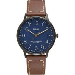 Timex THE WATERBURY CLASSIC Zegarek blue/brown. Brązowe zegarki męskie Timex. Za 379,00 zł.