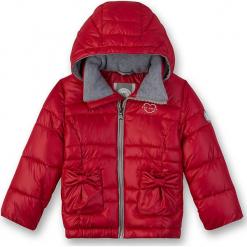 Kurtka zimowa w kolorze czerwonym. Czerwone kurtki dziewczęce zimowe marki Eat ants. W wyprzedaży za 197,95 zł.