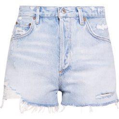 Szorty damskie: Agolde JADEN HIGHRISE SHORT Szorty jeansowe broken