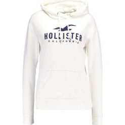 Bluzy rozpinane damskie: Hollister Co. TIMELESS Bluza z kapturem white