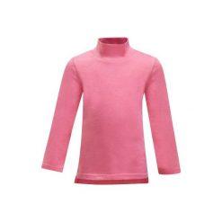 Koszulka Gym x2. Szare bluzki dziewczęce z długim rękawem marki DOMYOS, z elastanu, z kapturem. W wyprzedaży za 14,99 zł.