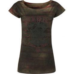 T-shirty damskie: Rock Rebel by EMP All In The Mind Koszulka damska brązowy