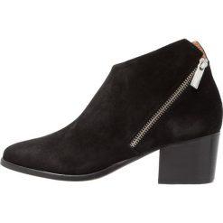 Botki damskie lity: ICHI MOLLY  Ankle boot black