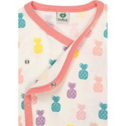 Bluzki dziewczęce bawełniane: Småfolk BABY WRAP CARDIGAN WITH PINEAPPLE Bluzka z długim rękawem orchid
