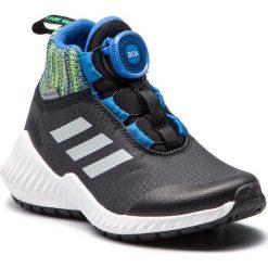 Buty sportowe damskie: Buty adidas - FortaTrail Boa Btw K AC7483 Cblack/Refsil/Blue
