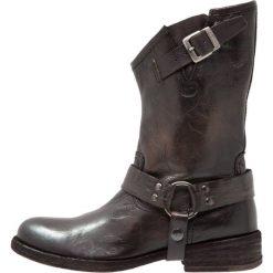 Felmini VERDY Kowbojki i Buty motocyklowe vega fuscile. Czarne buty zimowe damskie marki Felmini, z materiału. W wyprzedaży za 623,20 zł.