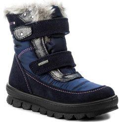Kozaki dziewczęce: Śniegowce SUPERFIT – GORE-TEX 1-00214-81 Ocean Kombi