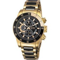 """Zegarki męskie: Zegarek kwarcowy """"Sigma"""" w kolorze czarno-złotym"""