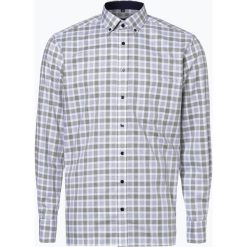 Koszule męskie na spinki: Eterna Modern Fit – Koszula męska niewymagająca prasowania, zielony