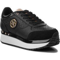Sneakersy GUESS - FLTIF3 PEL12 BLACK. Czarne sneakersy damskie marki Guess, z materiału. Za 499,00 zł.